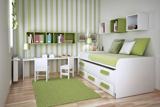 Tips to make bedroom more spacious classic ideas to decorate your home - Ways of creating more storage space in your home ...